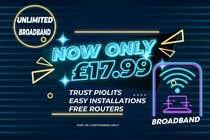 Internet Marketing Kilpailutyö #94 kilpailuun Create Broadband Advertisement