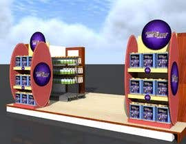 #22 для I need a design/ layout/ 3D model for a 3*4m spice & herbs  kiosk/stand in a shopping center. от TMKennedy