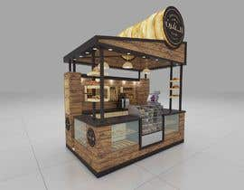 #2 для I need a design/ layout/ 3D model for a 3*4m spice & herbs  kiosk/stand in a shopping center. от aliuzair76