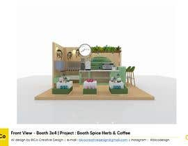 #36 для I need a design/ layout/ 3D model for a 3*4m spice & herbs  kiosk/stand in a shopping center. от bicocreative