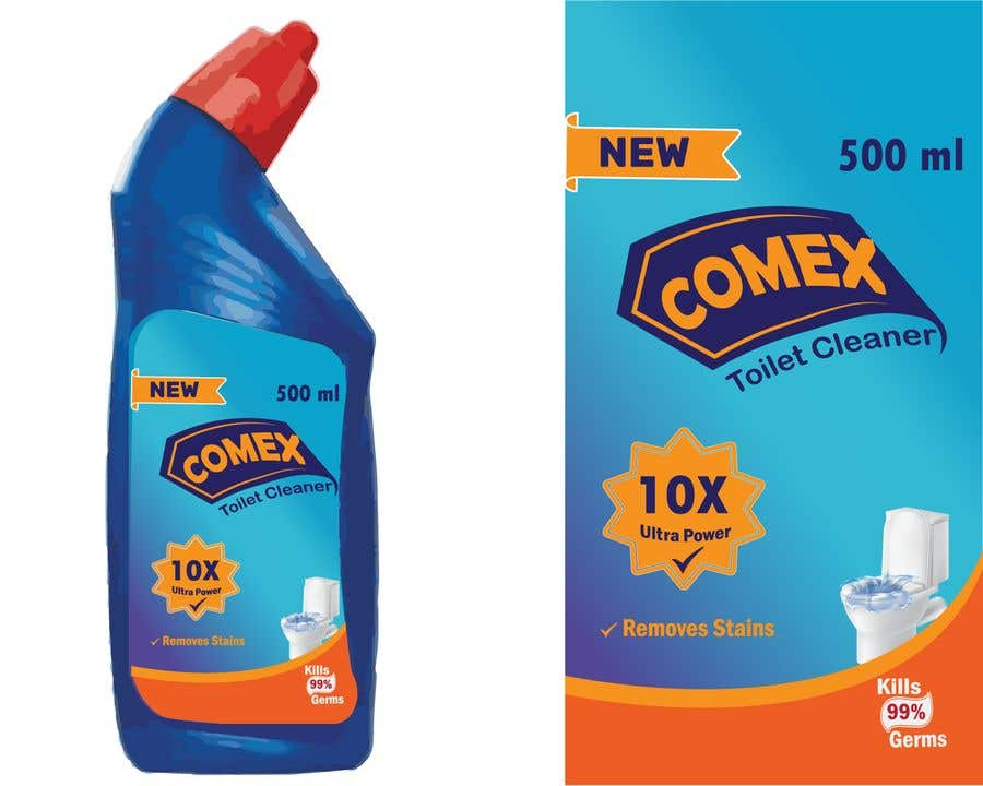 Contest Entry #                                        16                                      for                                         Label Design for Toilet Cleaner