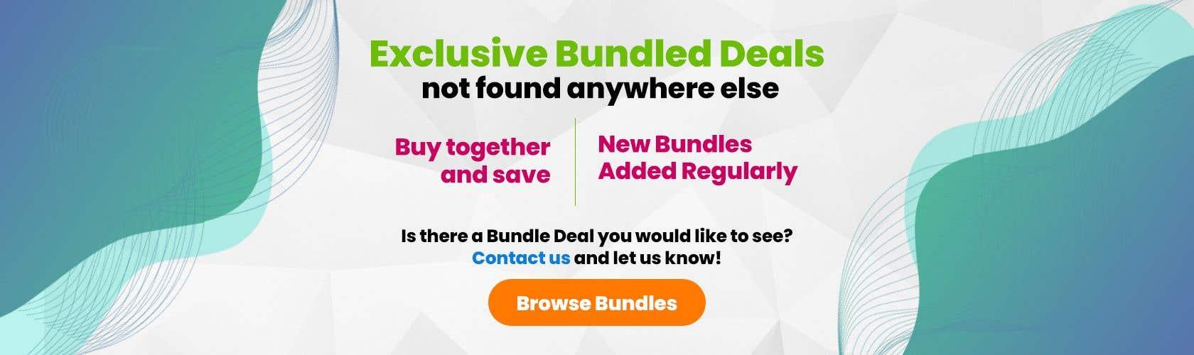 Konkurrenceindlæg #                                        46                                      for                                         Need Bundle Deals Banners for Website