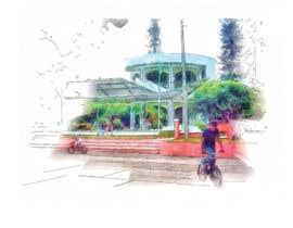 #70 untuk Draw a digital watercolor art oleh khaldiyahya