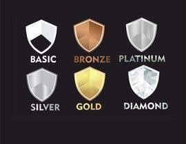 #46 cho Icon Design for Tiered Ranking System bởi legalpalava