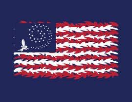 nº 9 pour graphic designer for a renditon of American Flag par TobyGFX