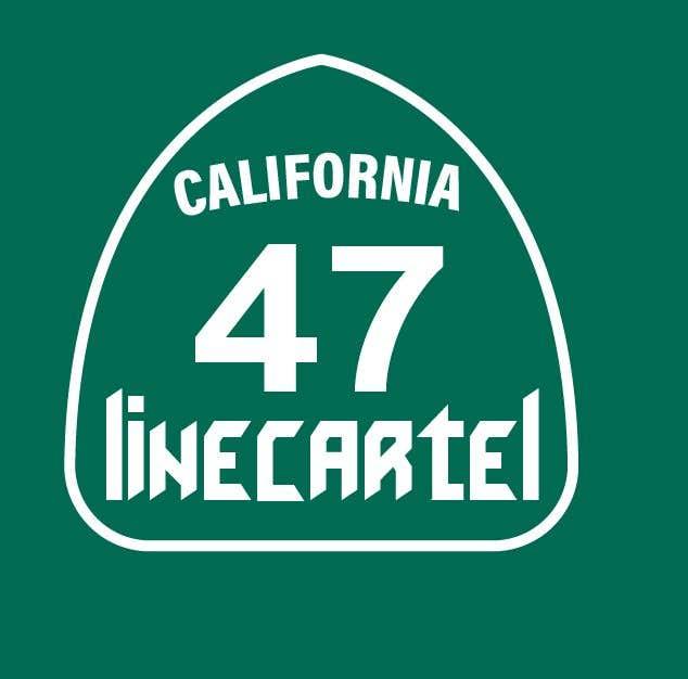 Kilpailutyö #                                        20                                      kilpailussa                                         Line cartel freeway sign
