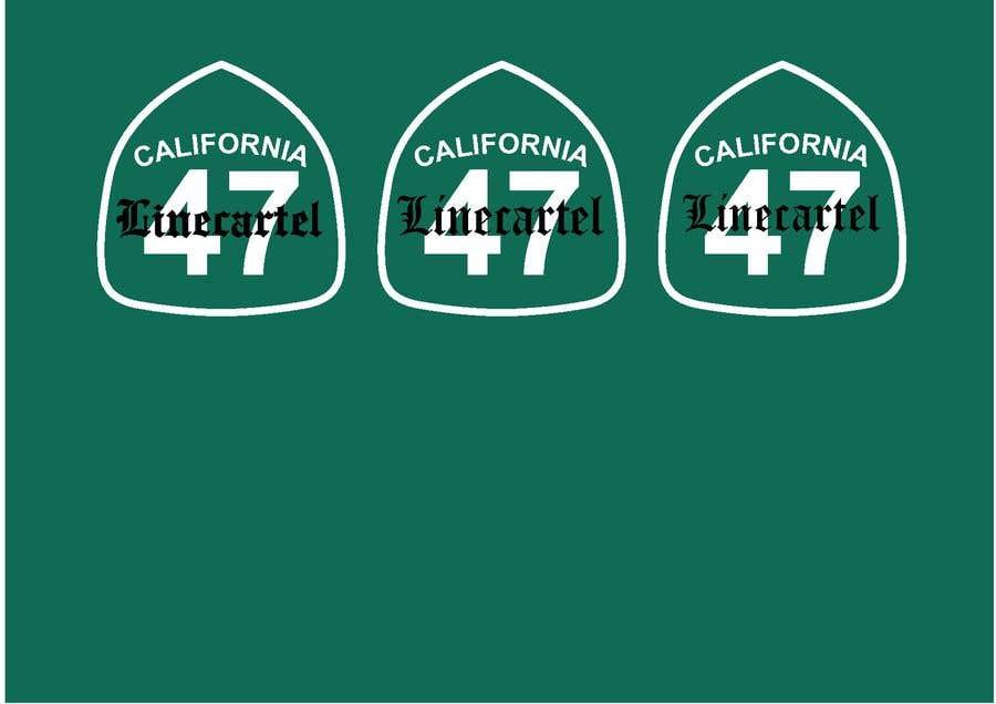 Penyertaan Peraduan #                                        24                                      untuk                                         Line cartel freeway sign