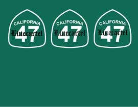 #24 untuk Line cartel freeway sign oleh littlenaka