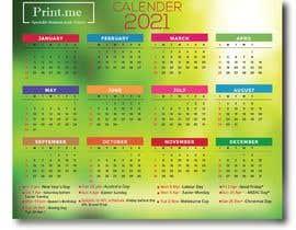 Nro 56 kilpailuun calendar design käyttäjältä mdrifat1999