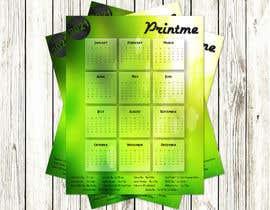 Nro 30 kilpailuun calendar design käyttäjältä UtkU666