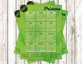 Nro 58 kilpailuun calendar design käyttäjältä UtkU666