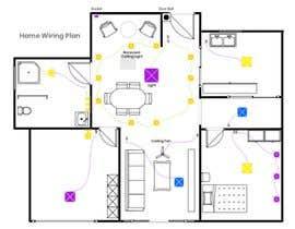 #32 for Modify a floor plan for an existing house af shamim2000com