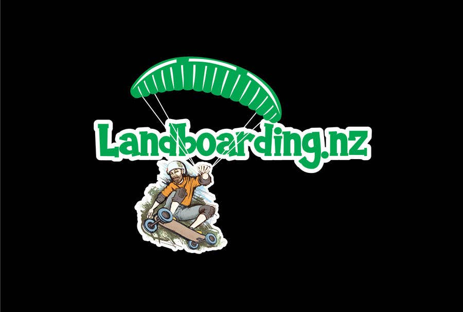 Konkurrenceindlæg #                                        86                                      for                                         Logo design for Kite Landboarding, e.g. Kitesurfing, mountainboarding