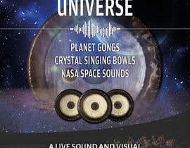 #206 for Design an A3 poster for a live music event with space theme. af yasineker
