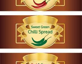 #8 for Create me a label for a spread/ sauces. I need three different labels for three different range. by rahathossenmanik