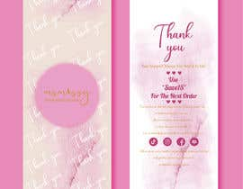 #64 untuk I need to create an insert/thank you card oleh tahminamitu53