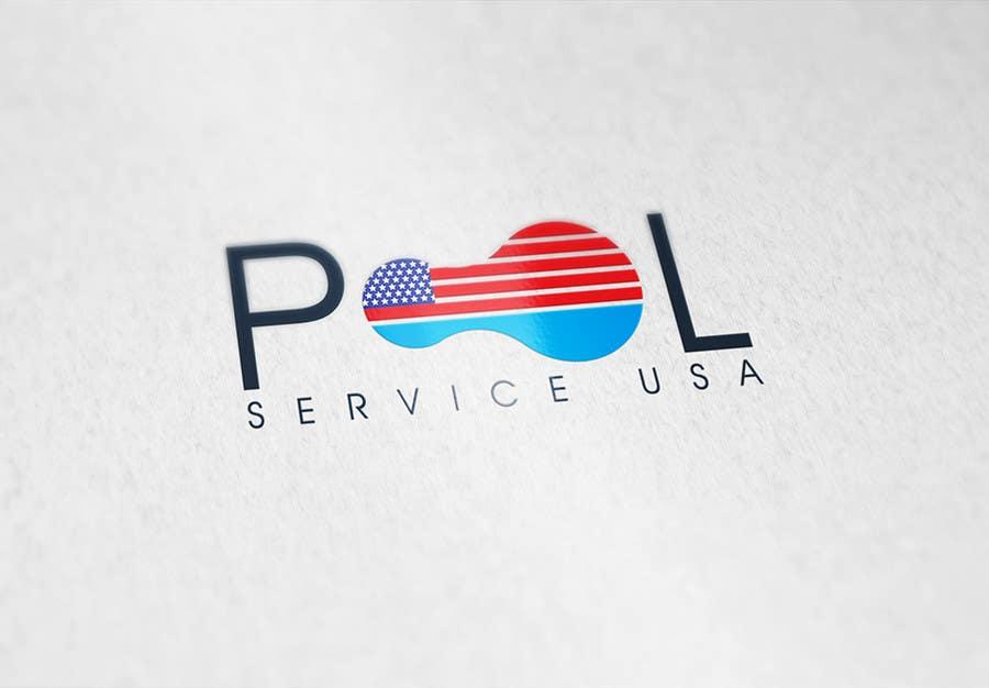 Participación en el concurso Nro.                                        59                                      para                                         Pool Service USA Logo