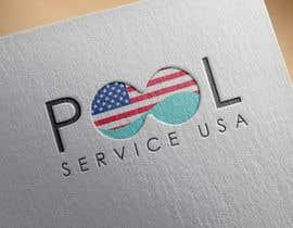 Atharva21 tarafından Pool Service USA Logo için no 60