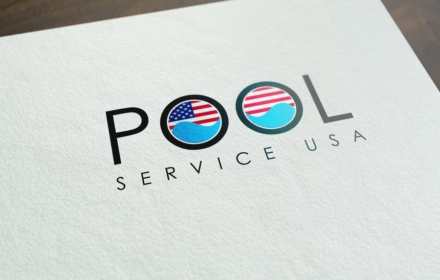 Konkurrenceindlæg #                                        67                                      for                                         Pool Service USA Logo