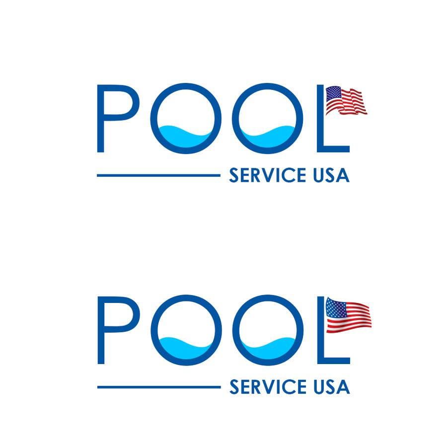 Konkurrenceindlæg #                                        15                                      for                                         Pool Service USA Logo