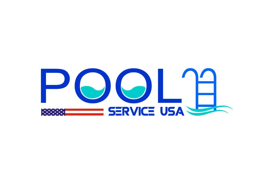 Konkurrenceindlæg #                                        53                                      for                                         Pool Service USA Logo