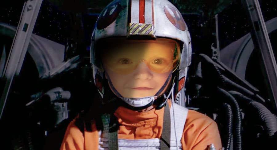 Inscrição nº                                         91                                      do Concurso para                                         Photoshop my son into this Star Wars Picture