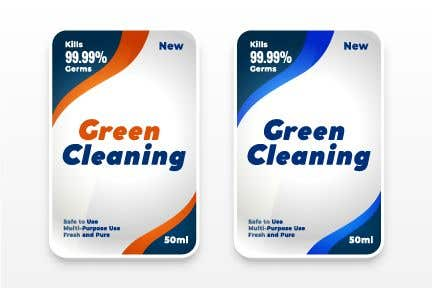 Contest Entry #                                        49                                      for                                         Green Cleaning Product line label