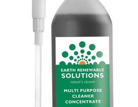#19 for Green Cleaning Product line label by Malou24