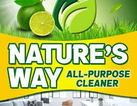 #45 for Green Cleaning Product line label by janaguilar82