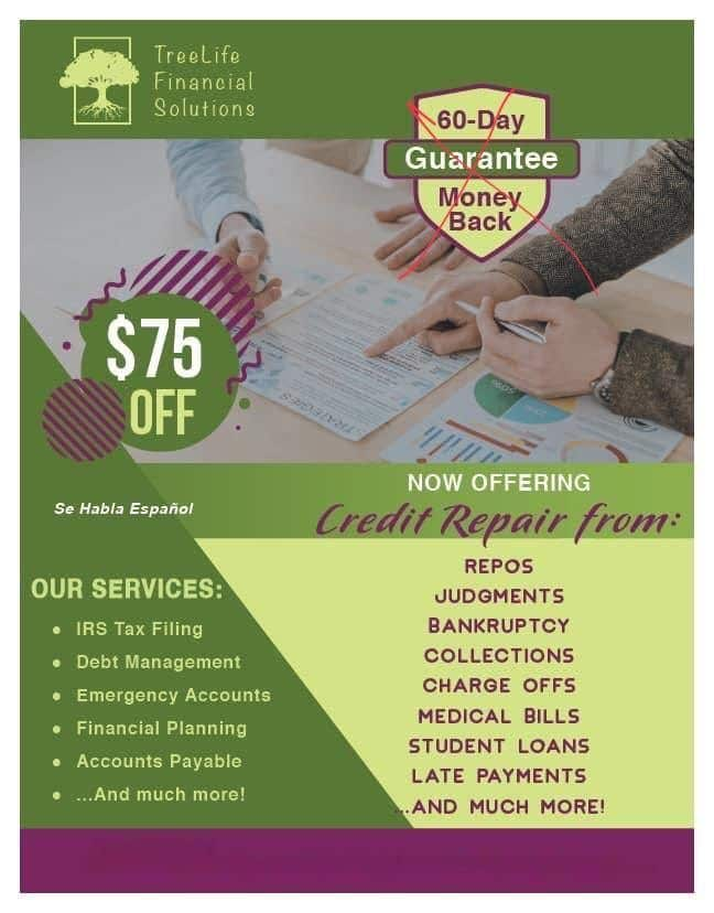 Contest Entry #                                        20                                      for                                         Credit Repair flyer - 23/09/2020 17:30 EDT