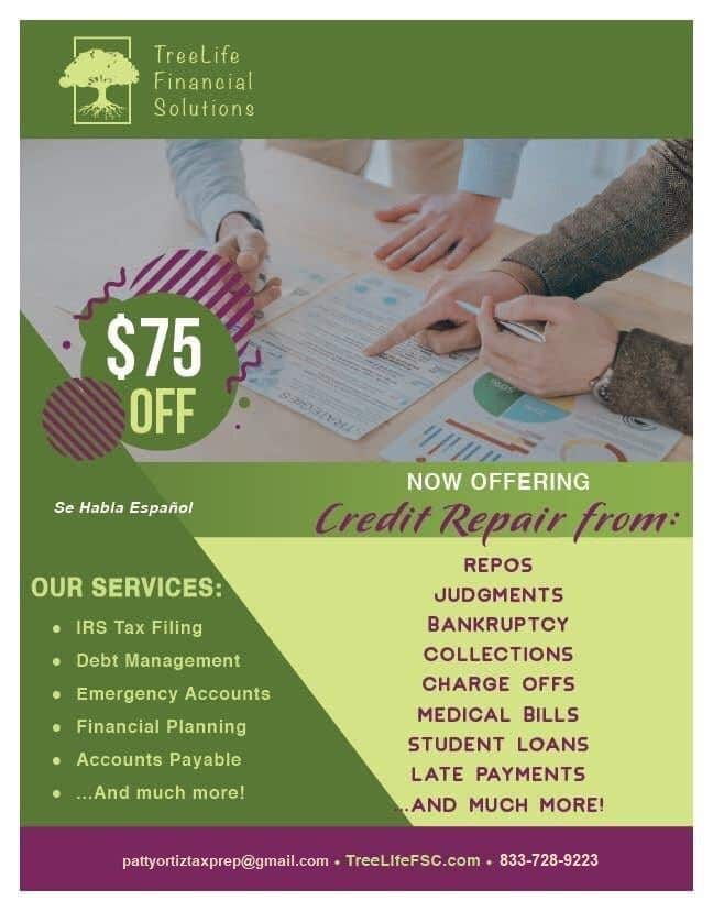 Contest Entry #                                        19                                      for                                         Credit Repair flyer - 23/09/2020 17:30 EDT