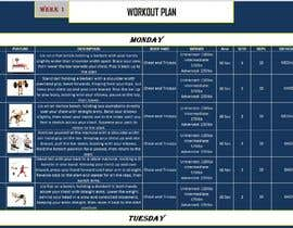 #50 for Workout Template by shashikumar252