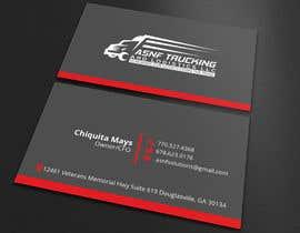 nº 117 pour Business cards - trucking company par kazisufi76