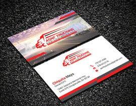 nº 167 pour Business cards - trucking company par Creativemoshiur9