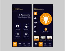 #34 for Mobile app design for smart home by manikmr2