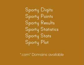 #373 para .COM DOMAIN - Suggest brand name for sport related project por fmbocetosytrazos
