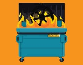 #27 for Dumpster Fire Icon by PepitoTrade
