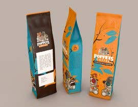 #159 for Coffee Bag Design by FAnuvo
