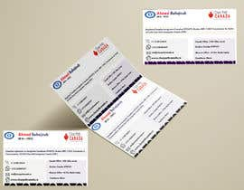 #140 for Business Card English and French by ahmedtanbir52
