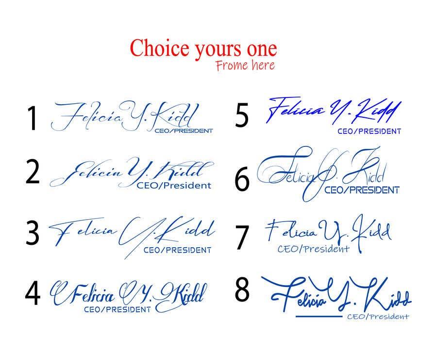Kilpailutyö #                                        68                                      kilpailussa                                         Create my custom signature