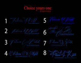 Nro 69 kilpailuun Create my custom signature käyttäjältä helalrazib