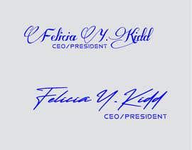 Nro 72 kilpailuun Create my custom signature käyttäjältä helalrazib