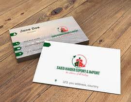 Nro 22 kilpailuun Logo and business card design käyttäjältä ayshataz1996