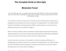 Nro 9 kilpailuun Write an essay käyttäjältä sayema457