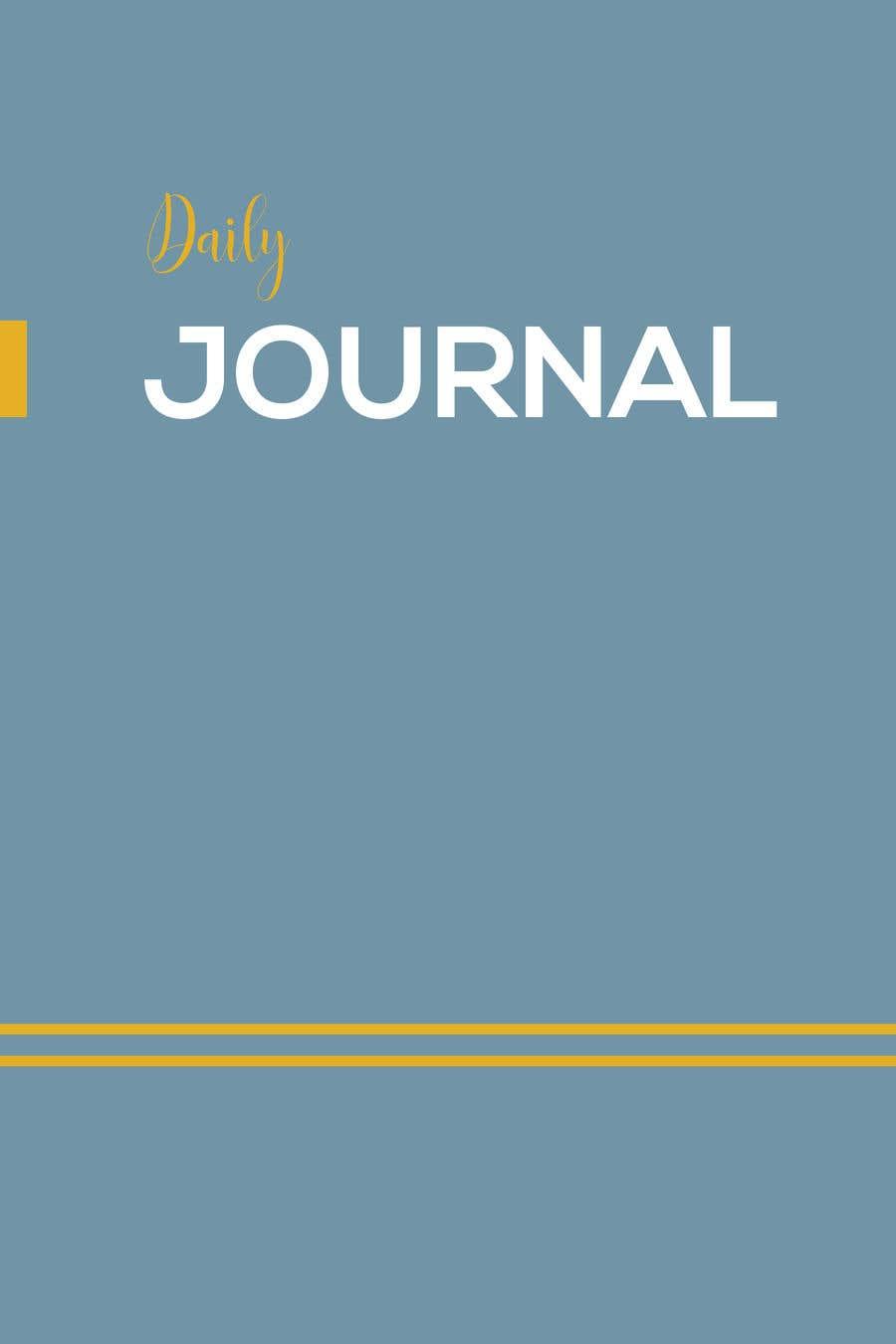Kilpailutyö #                                        8                                      kilpailussa                                         Design a Journal (Cover + Page) for Print
