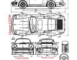 Nro 20 kilpailuun Design sketch for a tiny car for kids käyttäjältä sm10sumon