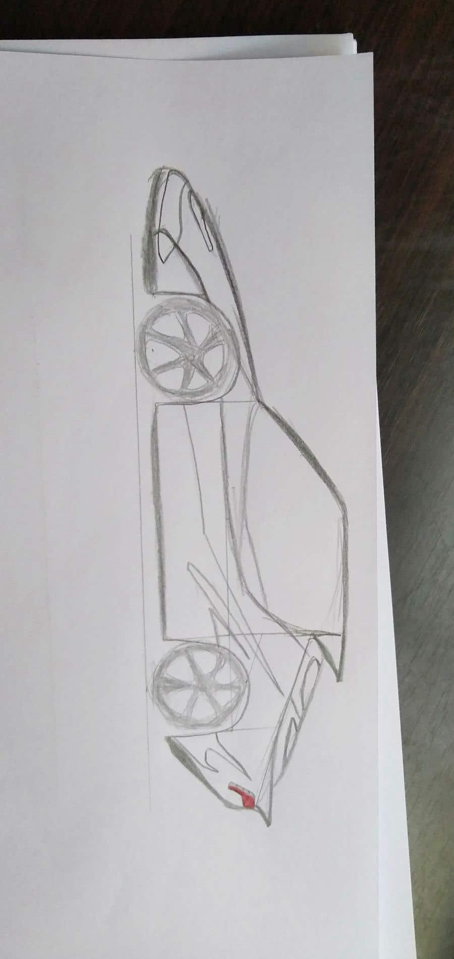 Contest Entry #                                        5                                      for                                         Design sketch for a tiny car for kids