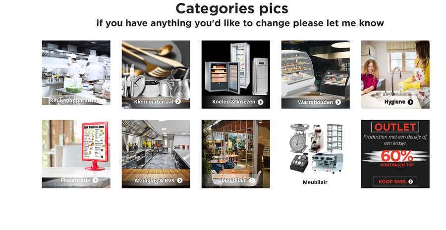 Конкурсная заявка №                                        46                                      для                                         New design for 10 Categories pics