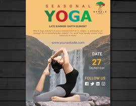 #62 for Yoga Flier Template by abrarsumon