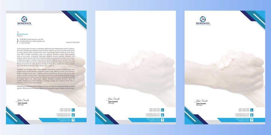 Bài tham dự cuộc thi #                                        73                                      cho                                         Design A4 Letterhead